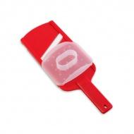 Tarka ceramiczna Vialli Design Colori czerwona