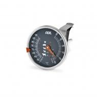 termometr do mięs, do 300°C, śr. 7,5 x 12,5 cm, stal nierdzewna/szkło