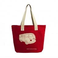 Torba na zakupy 43x40x10 cm BRISA VW BUS czerwona