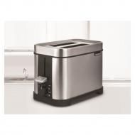 toster 2 komory stalowy D2-1