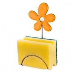 Uchwyt na gąbkę Koziol A-pril pomarańczowy