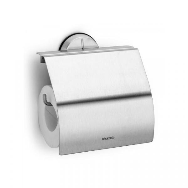 Uchwyt na papier toaletowy 14,8cm Brabantia Bathroom line srebrny BR 42-76-26