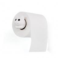 Uchwyt na papier toaletowy Roll Meo biały 10293-WH