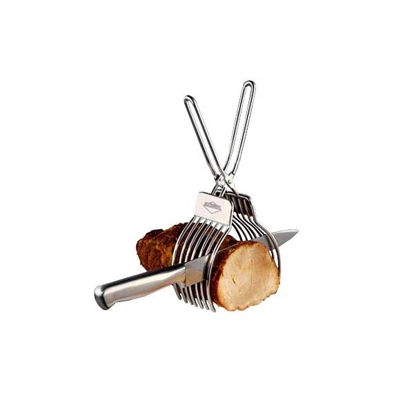 Uchwyt ze szczypcami do krojenia pieczeni Kuchenprofi KU-1310482800