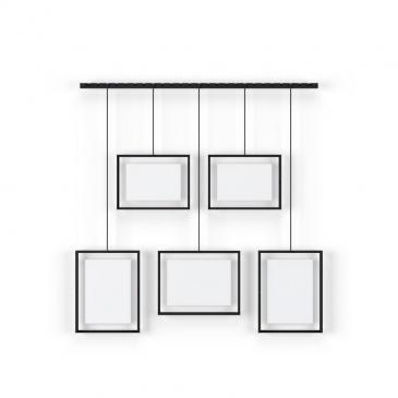 UMBRA - Multiramka na zdjęcia, czarna, EXHIBIT