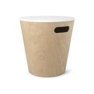 UMBRA stolik WOODROW biały - drewno