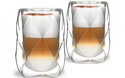 Unikatowe szklanki na kawę Geo Vialli Design - recenzja