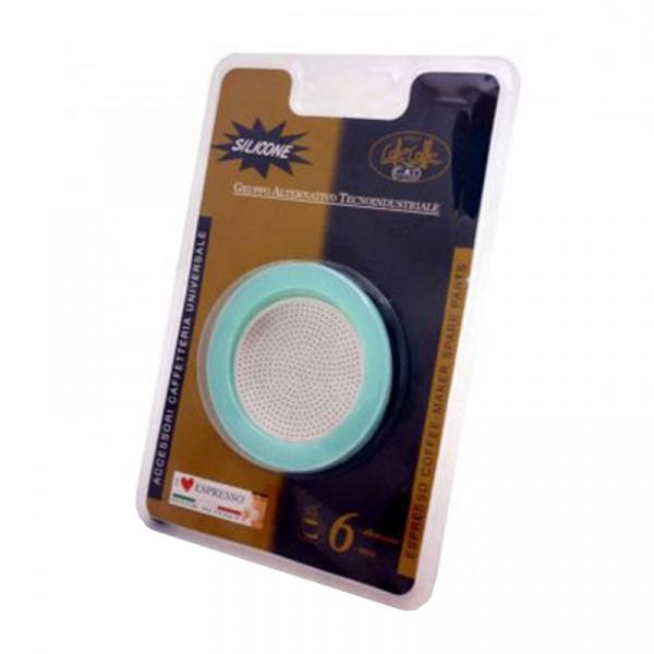 Uszczelki do kawiarek 1/2 Gat 2 szt.+filtr GA-105002RI1SIL