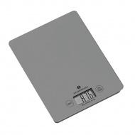 waga elektroniczna, 16,5x21,5 cm, szara