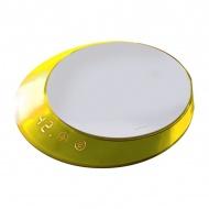 Waga elektroniczna z timerem Casa Bugatti Glamour żółta
