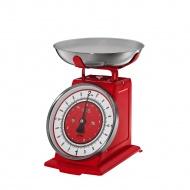 Waga kuchenna 25x20x21 cm Kuchenprofi czerwona