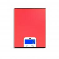 waga kuchenna, do 5 kg, 15 x 20 cm, czerwona