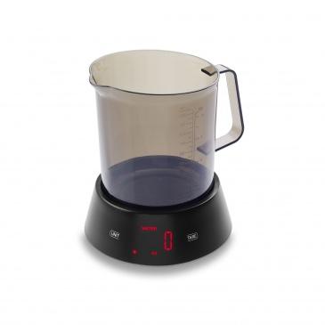 waga kuchenna z miarką, do 3 kg, 1,0 l, 17 x 14,5 x 18 cm