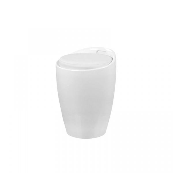 Wielofunkcyjna pufa King Bath Tubo biała LI-KK-705B.BIALY