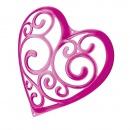 Wieszak na akcesoria Koziol Sissi różowy