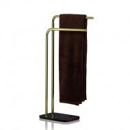 Wieszak na ręczniki 30x20x80,5 cm Kela złoto-czarny