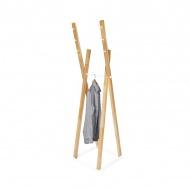 Wieszak stojący 172cm Moika Combo jasne drewno/biały