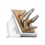 WMF - Blok 4 noży + nożyczki, Chef`s Edition