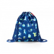 Worek mysac kids abc friends blue