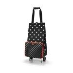 Wózek foldabletrolley mixed dots