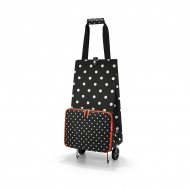 Wózek foldabletrolley mixed dots