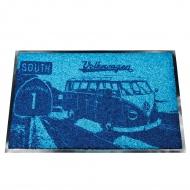 Wycieraczka 75x45 cm VW BUS niebieska