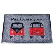 Wycieraczka 75x45 cm VW BUS szara