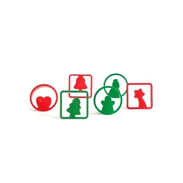 Wykrawarki do ciasteczek Pavoni Christmas CHRISTMASCOOKIES