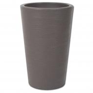 Wysoka Donica Varese Med Planter 35 cm : Kolor - brown
