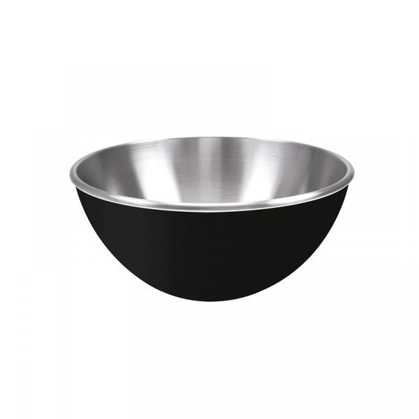 Zak! - Stalowa miska 25 cm, czarna 0015-9419