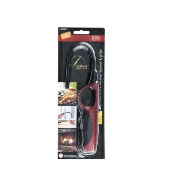 Zapalarka gazowa 35 cm Cilio Miami Flexi Turbo czerwona
