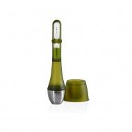 Zaparzacz do herbaty 4x20cm AdHoc zielony