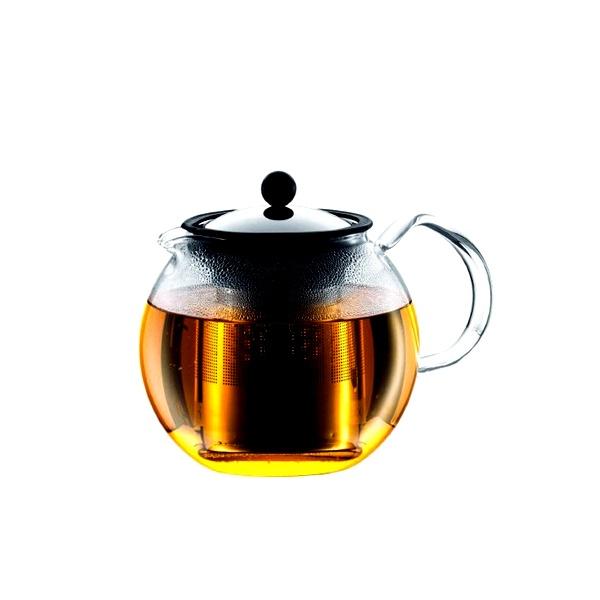 Zaparzacz tłokowy do herbaty 1 l BODUM Assam stalowy BD-1801-16