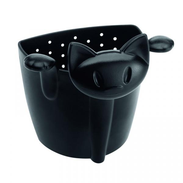 Zaparzaczka do herbaty kotek Koziol Mimmi czarna KZ-3236526