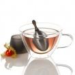 Zaparzaczka stalowa do herbaty AdHoc TEE-EI A-TE81