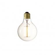 Żarówka Edisona 14x10 cm D2.Design złota