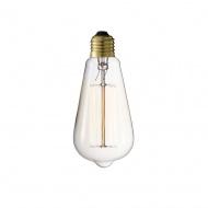 Żarówka Edisona 14x6 cm D2.Design złota