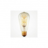 Żarówka Edisona 40W 10x6x6 cm ALTAVOLTA DESIGN złota