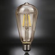 Żarówka Edisona LED 6W BF19 14x6x6 cm ALTAVOLTA DESIGN złota