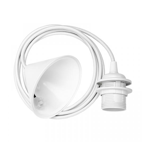 Zawieszenie do lamp biały oplot 2.1 m E27 Vita Copenhagen VCD-04005
