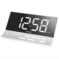 Zegar cyfrowy z budzikiem i łądowarką USB,, Sencor SDC 5100