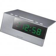 Zegar cyfrowy z budzikiem i łądowarką USB Sencor SDC 4600 GN