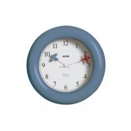 Zegar kuchenny ścienny Alessi niebieski