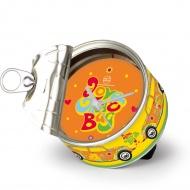 Zegar puszka MYCLOCK Flower 9x9x5 cm BRISA VW Beetle kolorowy