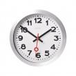 Zegar ścienny 19 cm Nextime Station bia 3998AR