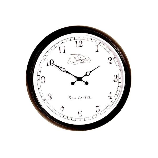 Zegar ścienny 25 cm NEXTIME Aaltje czarny 2654