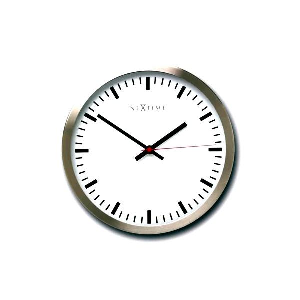 Zegar ścienny 26cm Nextime Stripe 2520