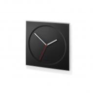 Zegar ścienny 26x26cm Zack Hoyo czarny