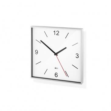 Zegar ścienny 26x26cm Zack Sillar biały