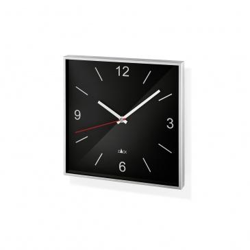 Zegar ścienny 26x26cm Zack Sillar czarny